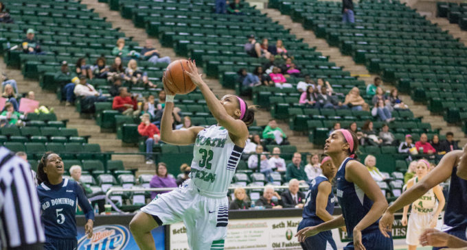 Mean Green women's basketball gets 14-point win in final season road game