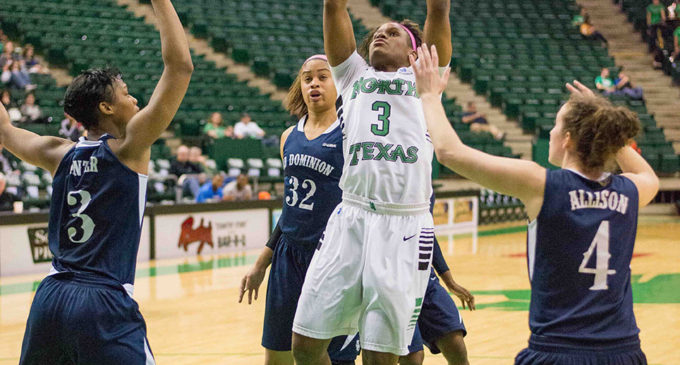 Mean Green women's basketball defeats Old Dominion in annual Play for Kay game