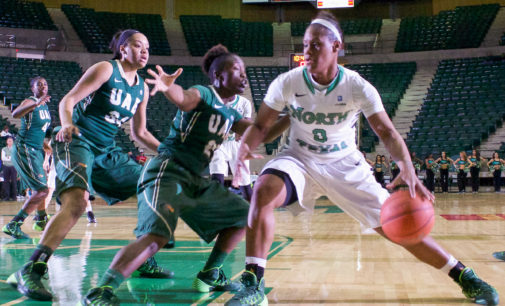 Mean Green women's basketball team pulls away late from UAB
