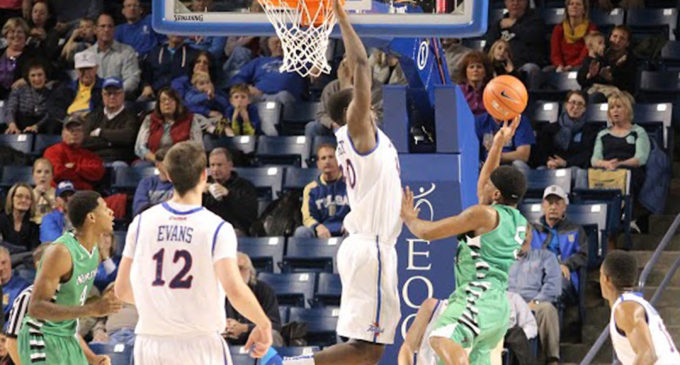 Mean Green men's basketball gets blown out by Tulsa