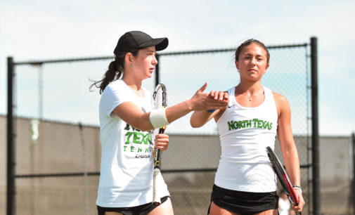 Tennis sweep championship round at second annual home tournament