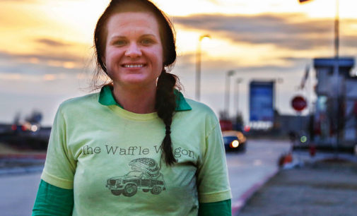 Waffle wagon still rolling and serving community