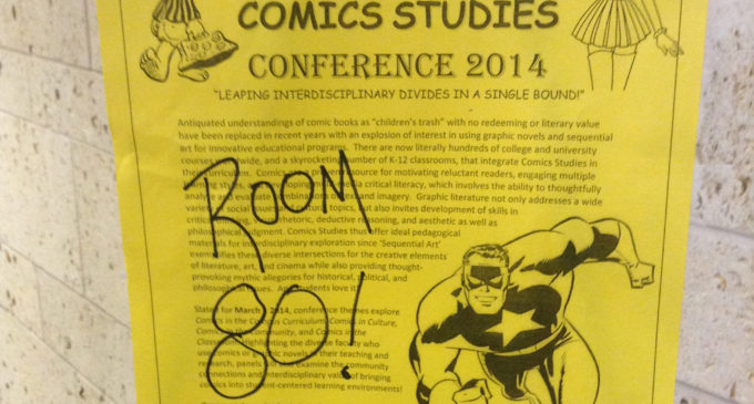 Comic book scholars teach research and philosophy at annual conference