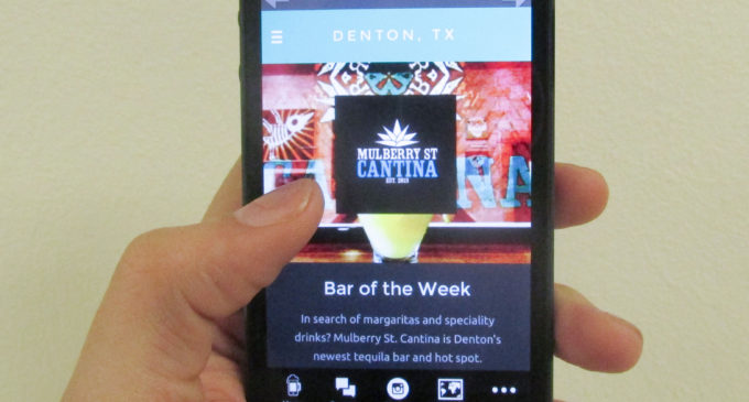 App quenches Denton's thirst for bar specials