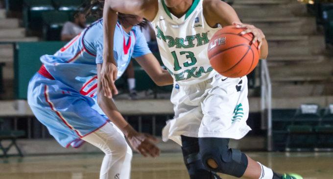 Late turnovers hurt Mean Green women's basketball in regular season finale