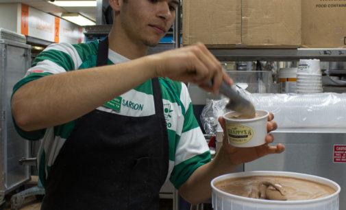 Scrappy's ice cream at UNT