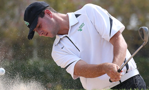 Men's golf looking for third straight conference championship