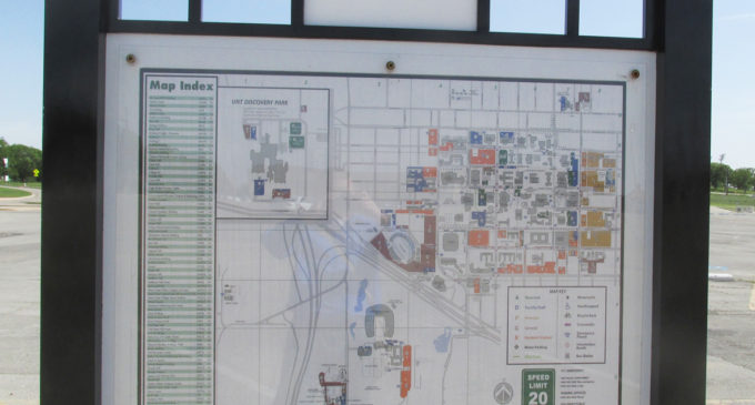More UNT maps on campus hindered by lack of facility funds