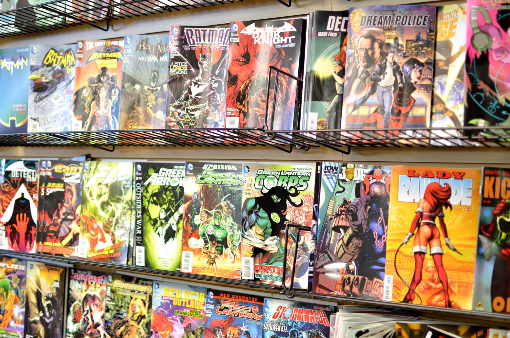 Batman and Green Lantern are just two of the comic book series brought to the big screen as well as the television set. By being portrayed in other forms of media, these characters have been introduced to those who don't read the comics.