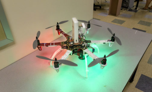 Engineering department creates drones for disaster relief