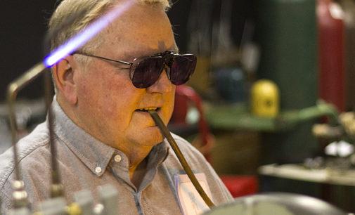 UNT master glassblower retires after 48 years