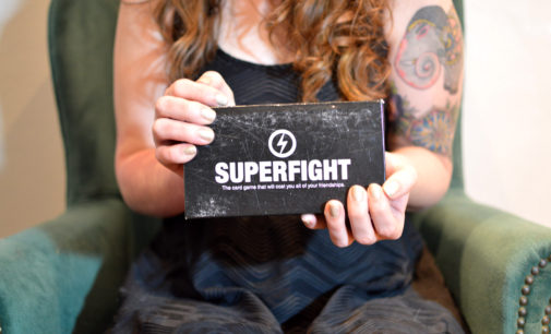 Barfight in a Box: A review of the card game 'Superfight'