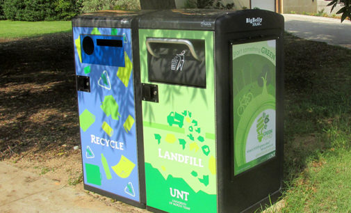 Solar trash compactors arrive on campus