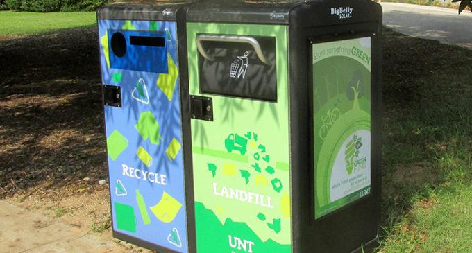 Solar trash compactors arrive on campus