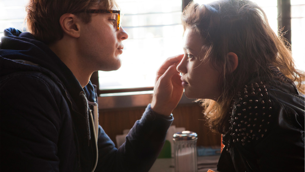 """Michael Pitt ('Ian') and Astrid Bergès-Frisbey ('Sofi') star in Mike Cahill's metaphysical thriller """"I Origins."""" Photo courtesy of Fox Searchlight Pictures."""