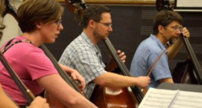 Music professor shares passion for double bass
