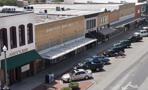 The Square: Denton's most iconic feature