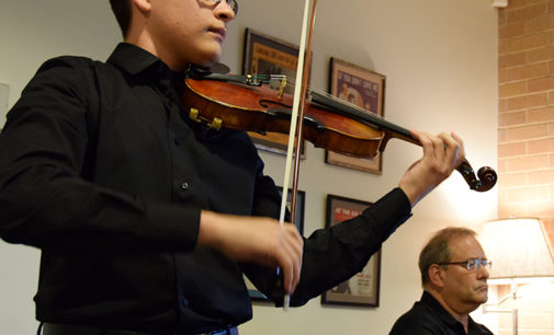 Music Library showcases pieces of rare music book collection at opening concert