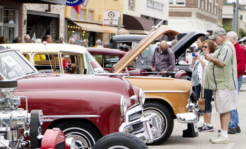 Square takes step back in time for auto show