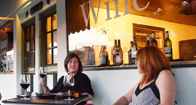 Local wine bar defies wine snob persona