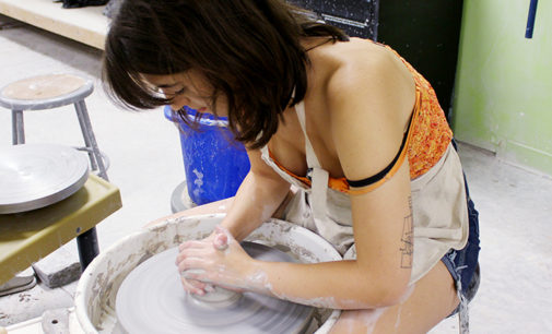 From the hands to the kiln: the art of ceramics