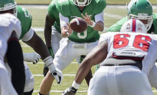 Mean Green quarterbacks adjusting to spotlight