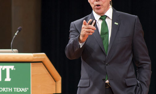 School finances, national rankings discussed in State of the University address