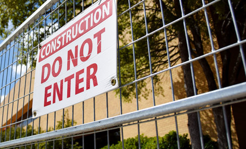 Renovations to Science Research Building halt due to water damage