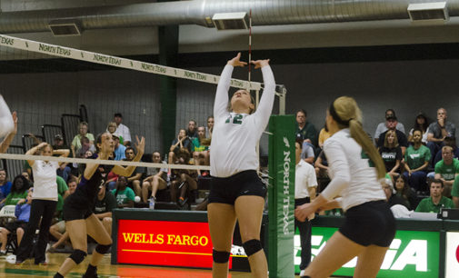 Mean Green setter takes next step as sophomore