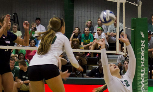 Volleyball earns first road win of season at SFA