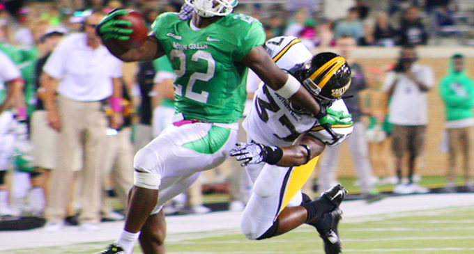Football back on the road against Rice