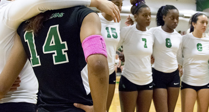 Volleyball team wants winning October record