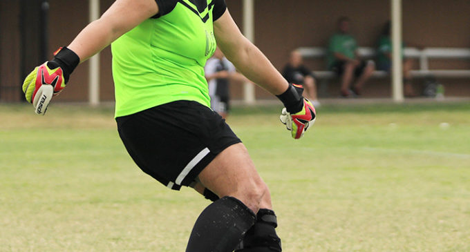 Goalkeeper looks to continue breaking records
