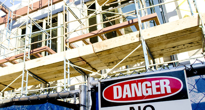 University's construction spending increased by 91.4 percent