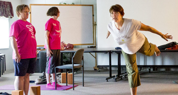 Yoga class relieves cancer patients, survivors