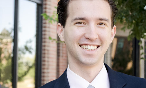 Student on the campaign trail for Texas House