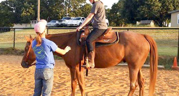 Equestrian club saddles up for showmanship