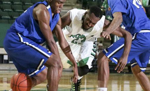 Men's basketball beats OCU in overtime exhibition