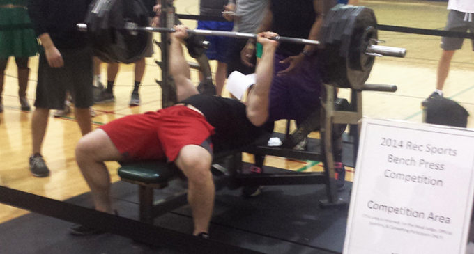 Pohl Recreation Center holds bench press competition