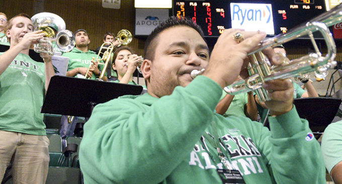 Basketball band and festivities boost spirit