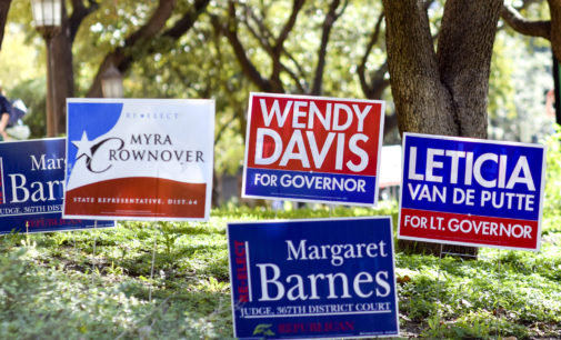 Denton plays historic role on Election Day