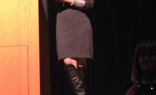 "Maria Hinojosa tells students to ""own it"""