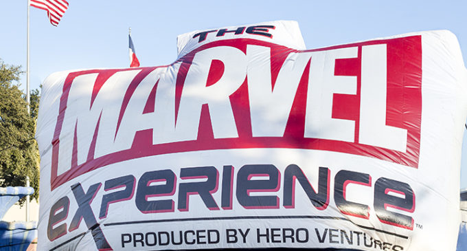 Celebrities, fans experience Marvel first hand