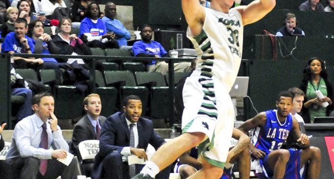Colin Voss explores football as basketball ends