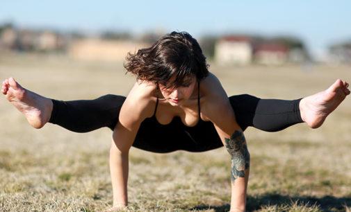 Breathe out: Yoga instructor follows dream