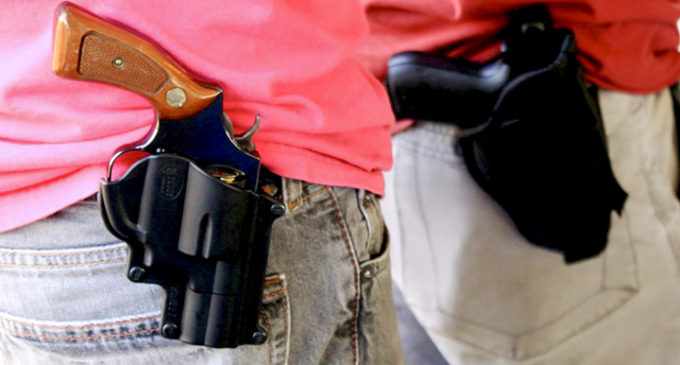 No one freak out, open carry and campus carry are completely different
