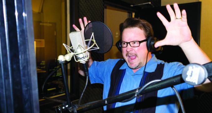 Big talk: voice actor builds local talent