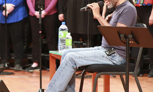 McFerrin improvises with UNT audience