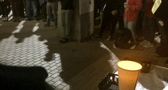 Students attend vigil for Chapel Hill shooting victims