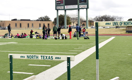 Track and field breaks records in third meet of the season